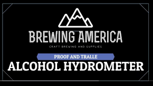 Alcohol Proof Conversion Chart Brewing America Proof And Tralle Hydrometer Test Kit