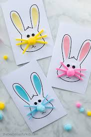 This sheet is perfect for creating easter greeting cards. Easter Bunny Card The Best Ideas For Kids