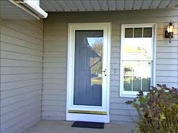 storm door frame replacement glass not square andersen parts custom doors