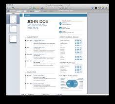 New Mac Template Modern Resume Mactemplates Com