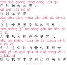 時 の 流れ に 身 を まかせ 中国 語