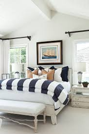 coastal style bedroom furniture. Nautical Bedding For Beach Style Bedroom With Blue And White Regard To Coastal Design 19 Furniture