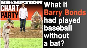 Baseball Bat Chart What If Barry Bonds Had Played Without A Baseball Bat Chart Party