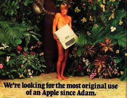 Image result for apple computer adam and eve