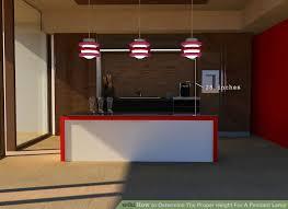 pendant lighting height. image titled determine the proper height for a pendant lamp step 3bullet1 lighting d