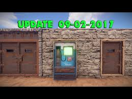 Vending Machine Rust Mesmerizing Update 484848 Vending Machine And How To Use It Door
