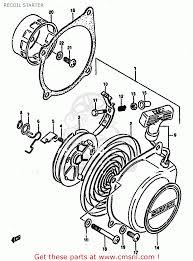 Suzuki lt50 1984 e recoil starter buy original recoil starter rh cmsnl gsx750f wiring diagram 1999 suzuki wire