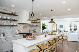 Bungalow Kitchen Fixer Upper Makeover A Style Packed Small Space Hgtvs