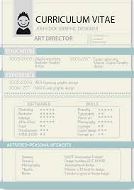 Resume Format For Arts Students Example Artist Cv Physic
