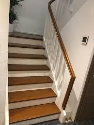 Ihre herstellung ist jedoch sehr kompliziert und sollte nur von fachleuten durchgeführt werden. Holztreppe Braun Weiss Treppe Weiss Treppe Treppe Holz