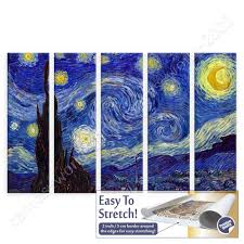 canvas rolled starry night vincent van gogh 5