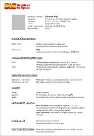 Work Experience Cv Resume Order Of Experience Rome Fontanacountryinn Com