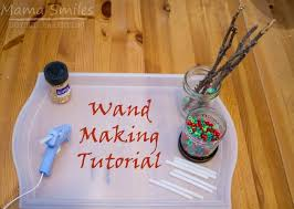 how to make a diy harry potter wand