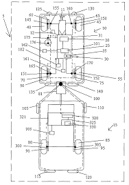 patent us7798263 stability enhancing system for tow vehicle and patent drawing