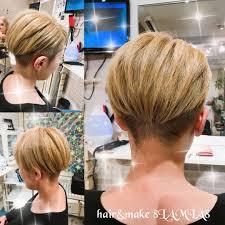 Hairmake 8lamia8ラミアさんのヘアスタイル ツーブロックアシメ