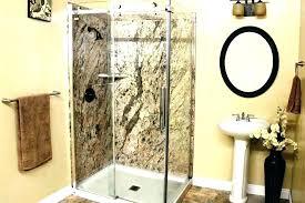 corian shower shower wall panels shower enclosures shower walls image of solid wall panels shower