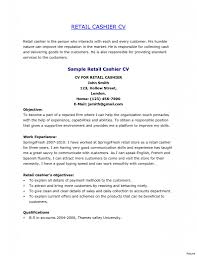 Cover Letter Retail Cashier Job Description For Resume Cashier