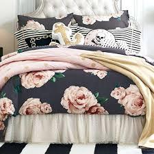 the emily meritt bed of roses duvet cover sham black blush pbteen bedding duvet covers funky