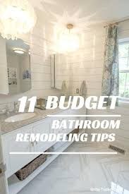 Diy Bathroom Remodel On A Budget Ideas