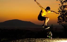 jump sunset skate helmet man skateboard skateboarding wallpaper 2560x1600 136024 wallpaperup