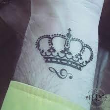 переводная татуировка корона купить в интернет магазине мнетату с