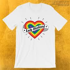 Lady Husband T Shirt Gay Af Novelty This Engagement Wedding