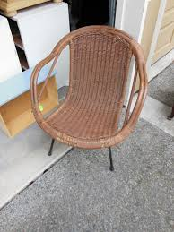 projects projects projects the weathered door ikea wicker lounge chair