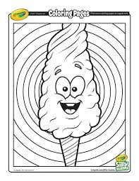 Silly Scents Cotton Candy Coloring Page Free Coloring Pages