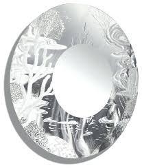 circle mirror wall art tropical nautical silver wall mirror large round mirror metal wall art decor