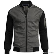 high school baseball jacket men veste homme autumn mens fashion slim cotton varsity jackets casual brand college jacket j180729 leather jacket with fur coat