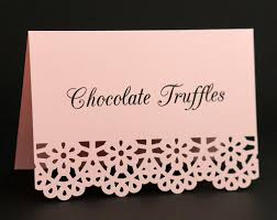 Blush Pink Food Signs Food Place Cards Food Labels