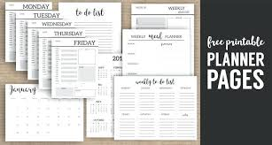 Page A Day Calendar Template Monthly Planner Template