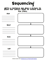 Sequence Of Events Worksheets Pdf Worksheets for all | Download ...