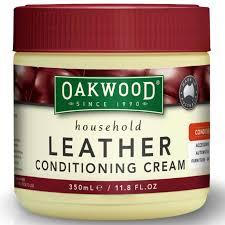 oakwood leather conditioning cream 350ml