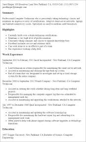 Resume Templates For Work