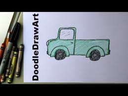How To Draw a Truck! Easy Drawing Lesson for Kids! Art Tutorial ...