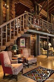 Log cabin interiors designs Kitchen Unique Whole Log Staircase Design Steel Log Siding 27 Log Cabin Interior Design Ideas Trulog Siding