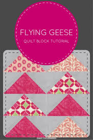 Video tutorial: make 4 flying geese blocks at once | Sewn Up & Video tutorial: make 4 quick and easy flying geese quilt blocks in 2  minutes! Adamdwight.com