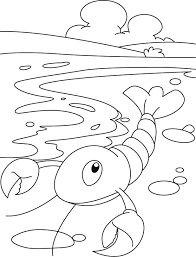 Small Picture Little lobster coloring pages Download Free Little lobster