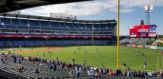 Angel Stadium Section 230 Rateyourseats Com