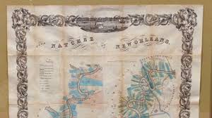 Lower Mississippi River Charts 1858 Map Of Lower Mississippi Goes Off The Charts