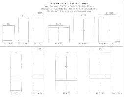Standard Kitchen Cabinet Door Sizes Tinmoihomnay Info