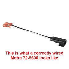 metra 72 5600 speaker wire adapter polarity reversed ford Metra 72 5600 Ford Speaker Harness click image for larger version name wired correct jpg views 482 size Speaker Connectors