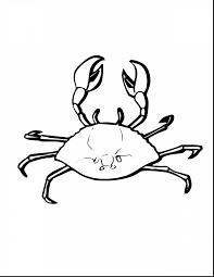 Small Picture Excellent horseshoe crab coloring page with crab coloring pages