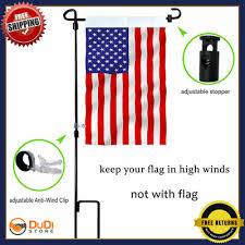large garden flag pole outdoor holder