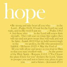 definition essay about hope