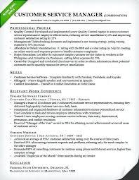Sample Resume For Customer Service Manager Best of Customer Service Duties For Resume Cvfreepro