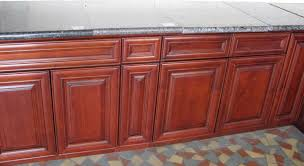 Cherry Or Maple Cabinets Cherry Maple Rta Kitchen Cabinets Detailed Raised Panel Door