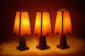 handmade arts and crafts lamp by brian thorp table lamps for custom made lamp