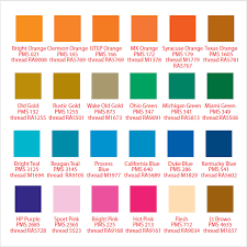 Sample Pms Color Chart 7 Examples Format